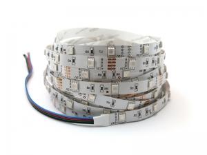 Taśma 150 LED RGB 7,2W/1m diody smd 5050 IP00 CRI>80 12V